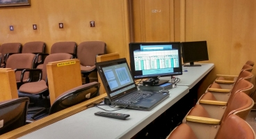 Hot Seat Trial Technician set up